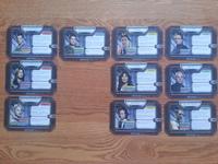 Battlestar Galactics character cards 3
