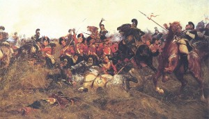 Black Watch at  the Battle_of_Quatre_Bras