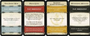 Conquest of Nerath event cards