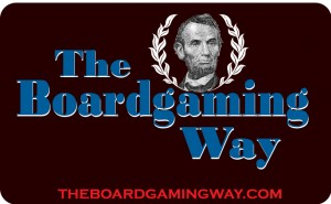 Boardgaming Way Lincoln Mug logo