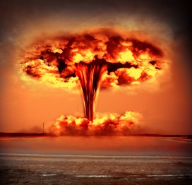 Financial Times Photo - mushroom cloud - pic