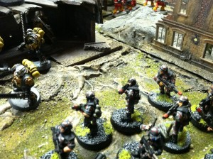 v7 imperial guard marches to front line