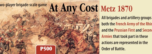 AT ANY COST: METZ 1870 Event Chits (Provisional)