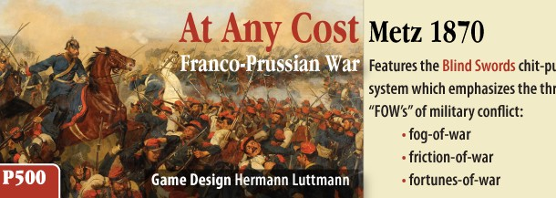 "Beta Rules for ""AT ANY COST:  METZ 1870"""