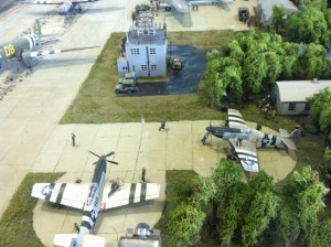 Model 15 US Airbase WWII