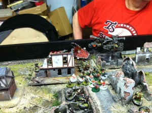 va 14 goblins and copter attack left flank