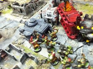 va 8 tank and orc assualt break center
