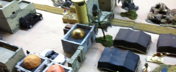 Wadi Vogell – The Prelude – (A Photo Essay of a Skirmish level miniatures war game)
