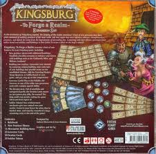 Kingsburg 7 - Back cover