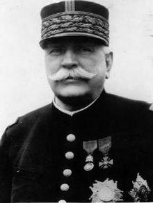 """Marshal Joseph Jacques Césaire """"Papa"""" Joffre,"""