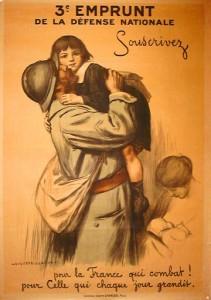 WW I French Propaganda poster