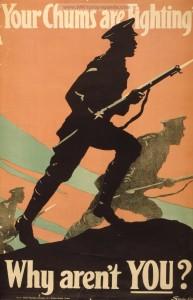 ww i British Propaganada poster