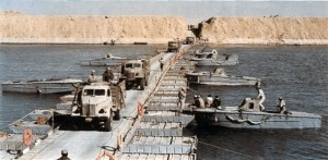 Yom Kippur War - Suez Canal crosssing