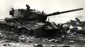 yom-kippur-wreck-Israeli tank