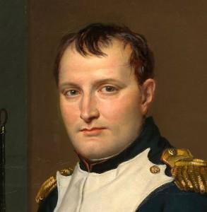 Battle of Waterloo Napoleon_painting