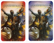 Chainmail - Card Backs - Red and Blue Deck