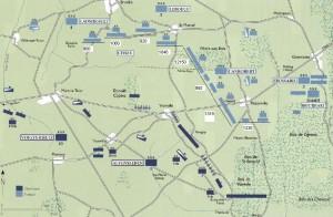 Mars la Tour battle map