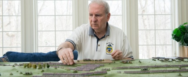 Washington Post: Re-creating the Battle of Waterloo, with 250,000 six-millimeter-tall toy soldiers
