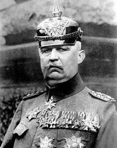 WWI German General Ludendorff