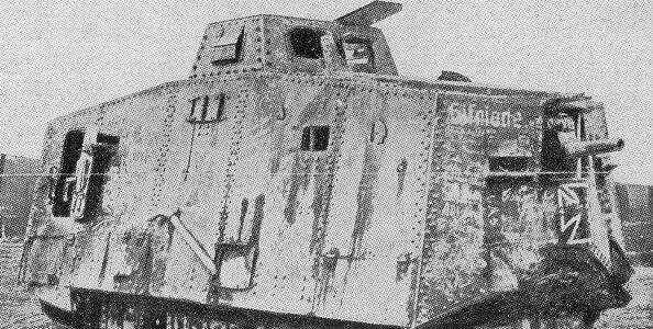 WWI German tank - krauttank