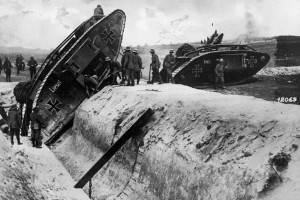 WWI first-world-war-tanks and trenches