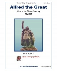 Alfred the Great: War in The West Country 876 AD now on Sale by Red King Games