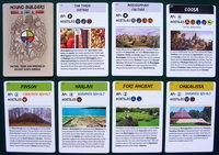 Mound Builders sample cards