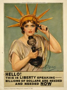 WWI propaganda poster 1