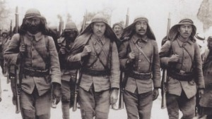 gallipoli photo - Turkish troops