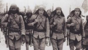 gallipoli photo - Turkish troops
