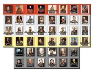 Age of Napoleon leader counters