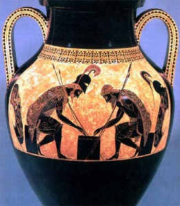 Ancient greeks playing games 4