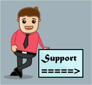 Support box with guy 2