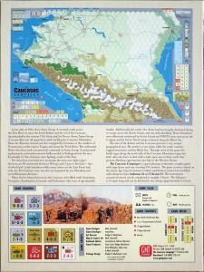 Caucasus Campaign box back cover