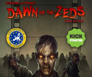 Dawn of the Zeds – 3rd edition now on Kickstarter