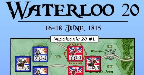 Winning Through Wear And Tear – A Boardgaming Way Analysis of Waterloo 20