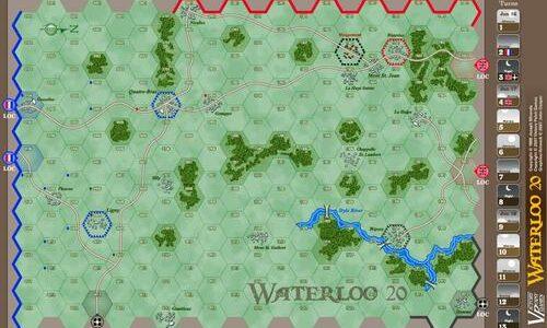 Waterloo 20 map