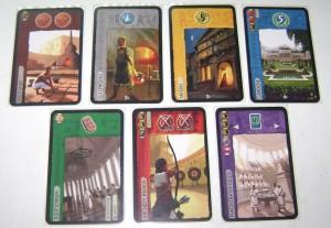 Wonder card types
