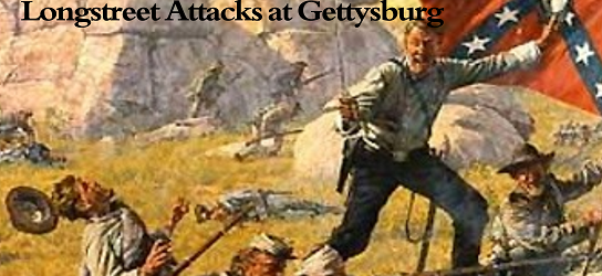 "New ""Hammerin' Sickles: Longstreet Attacks at Gettysburg"" cover released."