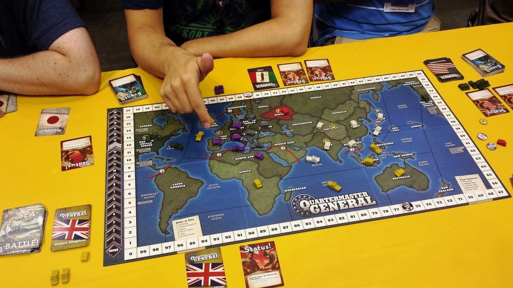The Boardgaming Way Quartermaster General: A Boardgaming ...