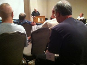 Tempe 36 - Mark Herman discussing his games Churchill and Pr.