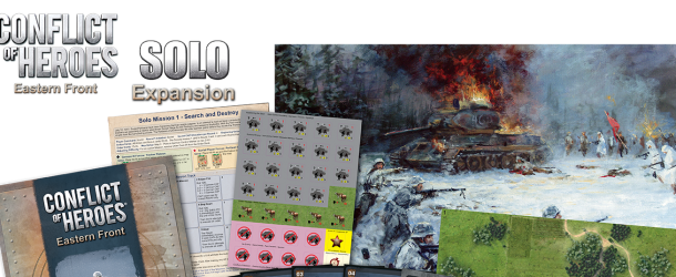 Conflict of Heroes Eastern Front – Solo Expansion now on Sale from Academy Games