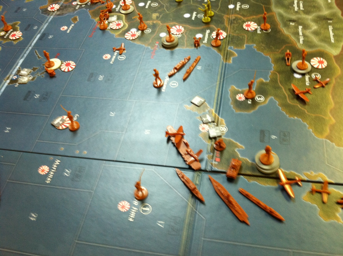 how to play axis and allies board game 1942