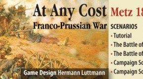 """At Any Costs: Metz 1870"" alternative title and cover tried out"