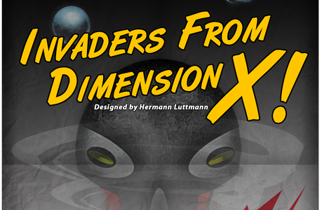 Invaders from Dimension X full cover