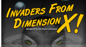 """Invaders from Dimension X!"" released by Tiny Battles"