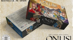 ONUS! Rome vs Carthage and Expansions from Draco Ideas now on Kickstarter