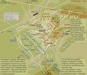 Ligny - The Battle and the Movement of the Armies