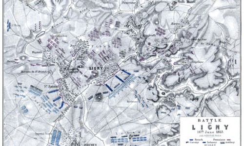 Ligny map