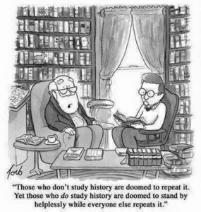 Meaning of History cartoon.